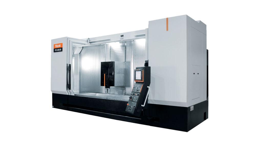 imagen de maquina mazak VTC 800/30 5 ejes