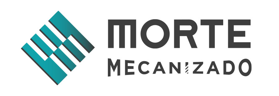 logotipo de morte mecanizado
